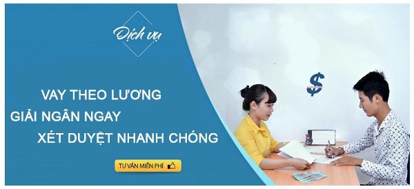 Vay tiền theo lương tại Đà Nẵng